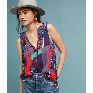 Maeve Anthropologie Anderson Sleeveless Top